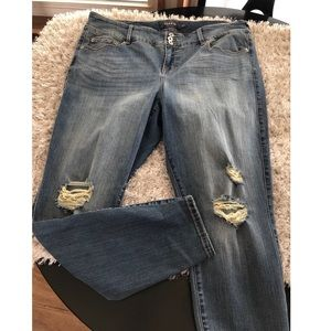 Torrid Distressed Jeggings Skinny Jeans Size 20